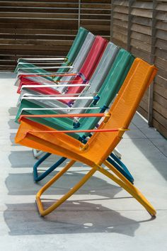 Great beach chairs: Il corner temporaneo EMU alla Rinascente #outdoor #colour