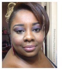 L'Oreal Cosmetics Color Richè Lipstick ~ Milani Cosmetics Baked Blush ~ Milani Cosmetics Baked Bronzer ~ NYX Cosmetics Butter Gloss ~ LA Girl Cosmetics Concealer IG: @soaprilfreshbeauty