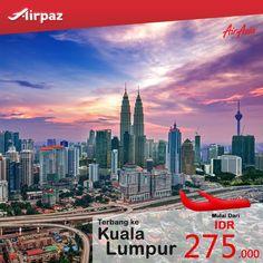 Terbang dari #Padang ke #KualaLumpur cuma 200ribuan aja dengan pesawat #AirAsia di #Airpaz Booking Sekarang juga : http://ow.ly/NNy2R  #TiketPesawat #TiketMurah #Promo #Indonesia #Malaysia #Travel #JalanJalan #Liburan #Weekend #Sale #Backpacker #Holiday #Backpacking #Traveling #Trip #Vacation #Asia