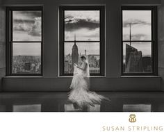 Susan Stripling Photography - Top of the Rock Wedding Pictures: When my first clients suggested going to Top of the Rock for their wedding pictures, I was hesitant. As a Brooklynite myself, I had never visited the Top of the Rock. It seemed like it would be a huge, crowded, difficult-to-navigate tourist attraction. I was surprised and pleased to find it a completely pleasant experience!..It can often be hard to find good locations to shoot the New York City skyline, especially on a…