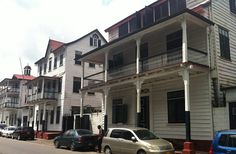 Historische binnenstad van Paramaribo