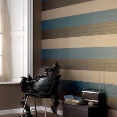 Textured Strips Wallpaper