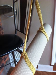 Crochet Yoga Mat Strap Carrier: Comes in all Colors!