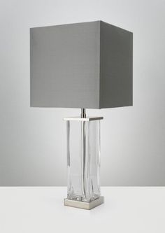 Vetro Small Clear Small, Decor, Table, Lamp, Lighting, Crystal Table Lamps, Home Decor