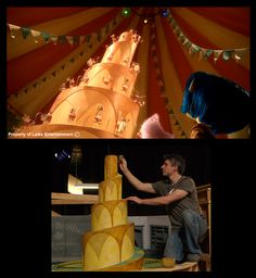 Jumping Mouse Circus: looks like a wedding cake!