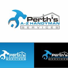 Perth's A-Z Handyman Services - Get your designs in and be a winner for Perth's A-Z Handyman Services Home maintenance and repair, Small Renovations, Decking, landscaping. Construction Logo, Perth, Your Design, You Got This, Letters, Decking, Logos, Landscaping, Graphics