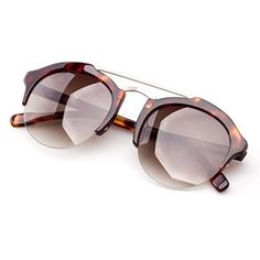 Colossein Unisex Classic Sunglasses,Acetate Round Frame With Nylon HD polarized Lens,UV 400 Trendy Sunglasses for Women are sunglasses that are heart shaped or otherwise oversized.  You will appreciate these will help elevate any fashion forward fashionista.  In fact, I like to own several pair of funky sunglasses so I can match or at best compliment my outfit.  Regardless several of these trendy, chic and funky sunglasses belong in your wardrobe.