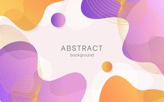 Abstract background with liquid effect and memphis Flat Background, Poster Background Design, Geometric Background, Geometric Shapes, Background Ideas, Backgrounds Free, Abstract Backgrounds, Colorful Backgrounds, Creative Icon