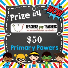 Creative Lesson Cafe: Primary Powers! An exciting NEW Adventure and INCREDIBLE Giveaway!