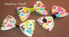 cute bows from etsy crafter