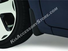 Kia Accessory Store - Kia Rio 2012-16 Rear Splash Guards.  Gary Rome Kia 809 Enfield Street Enfield, CT 06082 1-800-509-2652