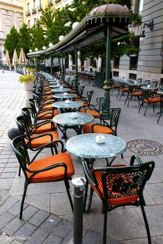 Photograph Café de Oriente, Madrid, Spain   by Lola Pellico