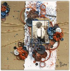 """Di's Creative Space: More March DT Inspirationfor 2Crafty ChipboardPart Two""""Live Laugh Love"""""""