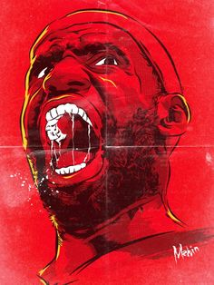 Lebron James 'Primal Roar' Comic Book Style Art