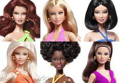 Barbie Basics 3.0 Faces