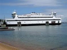 Steam Ship Authority Ferry at Martha's Vineyard