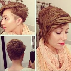 Trendy Short Haircuts with Thick Hair - Spring Hairstyles 2015 for Women