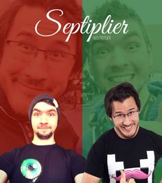 JackSepticEye and Markiplier! Made by my best friend Ashleigh!!!  <3