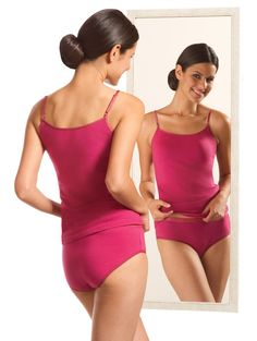 Jockey Pink Reversible Camisole
