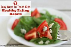 Healthy eating habits feature