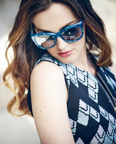Leighton Meester for Jimmy Choo SS15 Collection