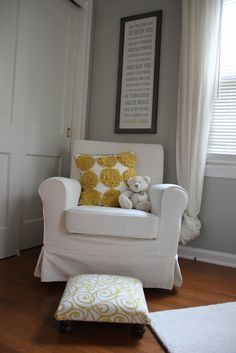 Baby Nursery Upholstered Rocking Chair Kids Pinterest