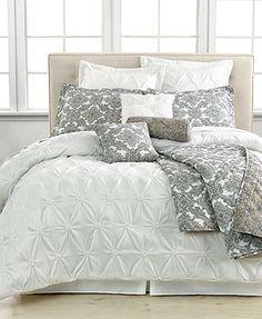 Jasmin White 10 Piece Comforter Sets-for my sleep sanctuary!