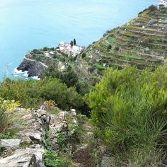 #Beccara the alternative super steep path from #Manarola #Riomaggiore