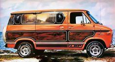 70's Vandura conversion by LRP.