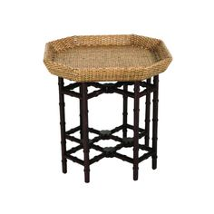 Item Code: Description: When looking for sleek and simple lines, our Urban End Table Table is the answer. Intimate in size, this angular shaped rattan table can be both casual and formal, depending on the accessories. Rattan peel weave an. Furniture Styles, Furniture Decor, Rattan Furniture, Furniture Design, British Colonial Decor, Living Room Furniture Sale, Rattan Side Table, Sofa End Tables, Home Furnishings