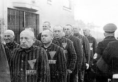 "After the Nazi concentration camps were liberated, prisoners wearing the pink triangle (LGBTQ) were forced to serve out the rest of their sentence under the law, ""Paragraph which criminalized homosexuality. Many continued to be incarcerated throughout the Pink Triangle, Holocaust Memorial, Jehovah's Witnesses, Persecution, World War Ii, Wwii, Spirituality, Germany, Forget"
