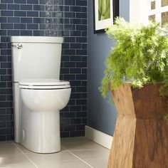 Shop American Standard EverClean™ White High Efficiency Watersense Round 2-Piece Chair Height Toilet at Lowe's Canada. Find our selection of toilets at the lowest price guaranteed with price match + 10% off.