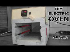 I made this electric oven salvaging parts from a toaster and adding a PID controller to keep consistent temperature. Oven Diy, Diy Pizza Oven, Metal Projects, Welding Projects, Diy Projects, Electric Pizza Oven, Pid Controller, Propane Forge, Vertical Vegetable Gardens
