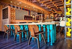 Don Chido - an authentic, stylish restaurant in San Diego, interior design