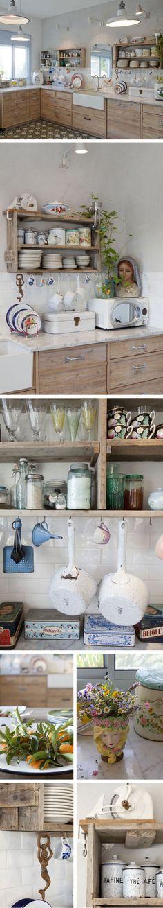 Karen Shavit kitchen, Kibbutz Gvat.