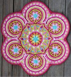40+ Crochet Mandala Patterns