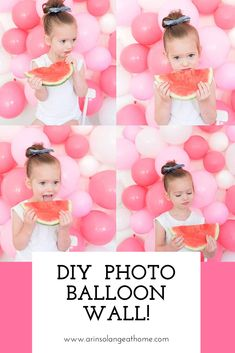 Need a good party or photo backdrop wall? Looking for simple decorations for a birthday, shower, or graduation? This quick easy DIY balloon wall idea makes for a great easy option. It is also a perfect wall for a photo booth for the photographer! Check out my tutorial and try it for yourself! #photowall #balloon #party