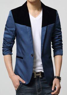 Blazer Outfits Men, Mens Fashion Blazer, Casual Blazer, Blazers For Men, Birthday Fun, Men's Style, Shirt Style, Men's Fashion, Draw