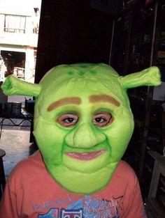 116 Best Shrek Mascot Costume Images On Pinterest Adult Costumes