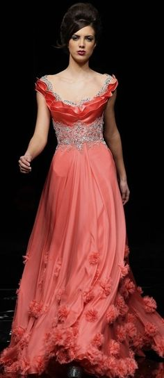 Hanna Touma ... just give me a reason to wear this beautiful dress (and look good in it!)