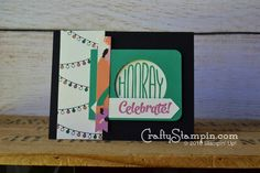 Sneak Preview – New Catalog Product Confetti Celebration Stamp set & Playful Palette DSP | Crafty Stampin; Stampin UP