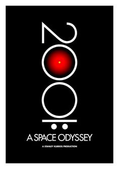 2001: A Space Odyssey Poster 1 by Changethethought, via Flickr