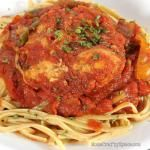 Easy Healthy Dinners: Crockpot Chicken Cacciatore