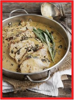 This Pork Loin with Wine and Herb Gravy is absolutely the best pork loin recipe I've ever made! Tender pork loin, cooked with wine, garlic and herbs, then sliced thin with a beautiful gravy. Pork Tenderloin Gravy Recipe, Best Pork Tenderloin Recipe, Leftover Pork Tenderloin, Pork Roast Recipes, Meat Recipes, Leftover Pork Loin Recipes, Roast Brisket, Dinner Recipes, Game Recipes