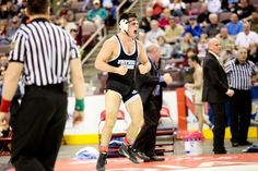 What a year: Just months after winning Philadelphia's first-ever state wrestling championship, Father Judge's Joe Galasso (top) has committed to wrestle at Cornell University the summer before senior year. Father Judge, Cornell University, Senior Year, Philadelphia, Wrestling, Times, Summer, Top, Lucha Libre