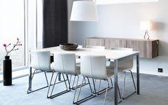 Hvite Bernhard-stoler fra Ikea