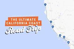 The ultimate California coast road trip itinerary
