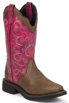 Justin Gypsy Bay Apache Cowgirl Boots - Square Toe - Sheplers
