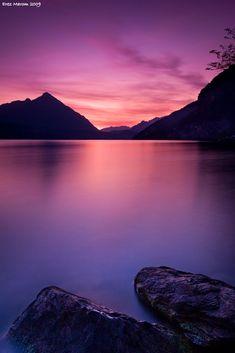 ✯ Lake Thun Sunset - Switzerland