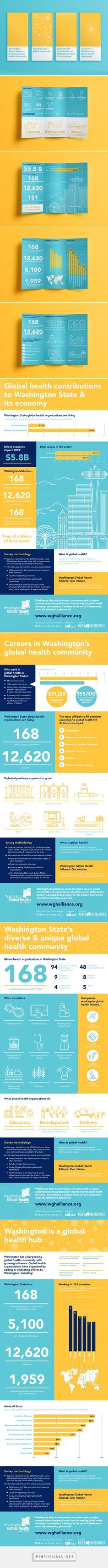MULTIMEDIA: WASHINGTON GLOBAL HEALTH LANDSCAPE STUDY - Killer Infographics - created via https://pinthemall.net